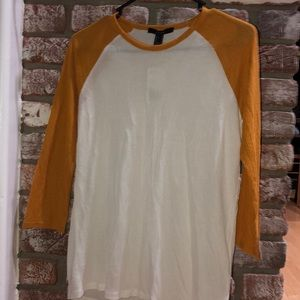 Forever 21 Baseball Tee thermal